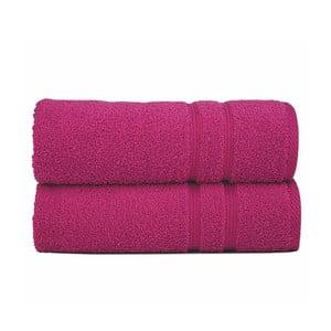 Ręcznik Sorema Basic Fuchsia, 70x140 cm