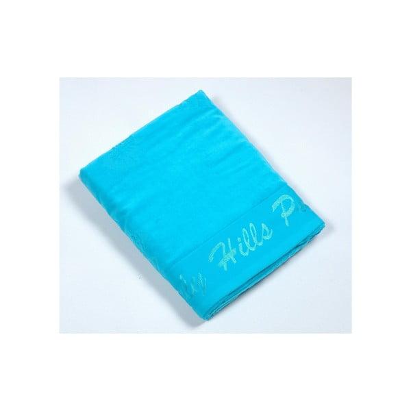 Ręcznik bawełniany BHPC Velvet 80x150 cm, turkusowy