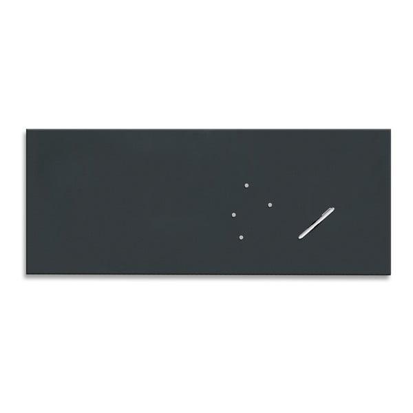 Tablica magnetyczna 50125, 50x125 cm, ciemna