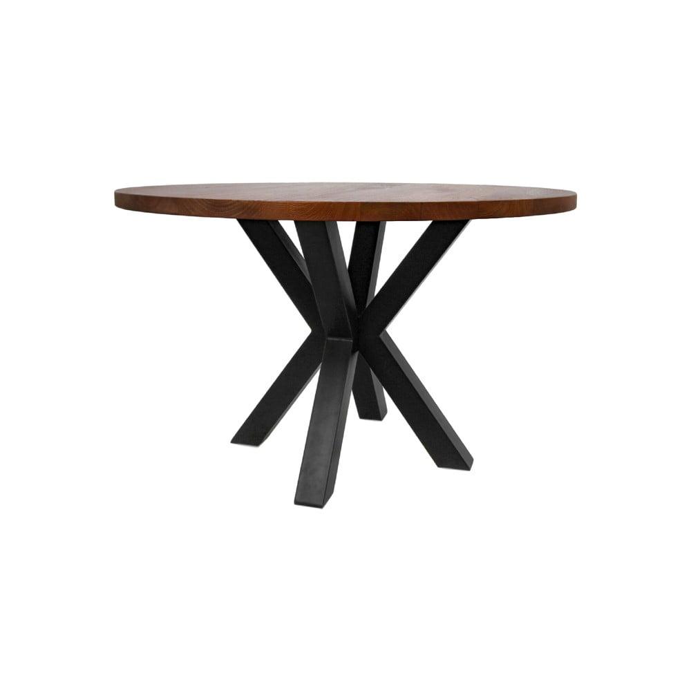 Okrągły stół z blatem z drewna mangowca HMS collection, ⌀ 120 cm