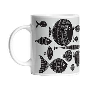 Ceramiczny kubek Follow Fish, 330 ml