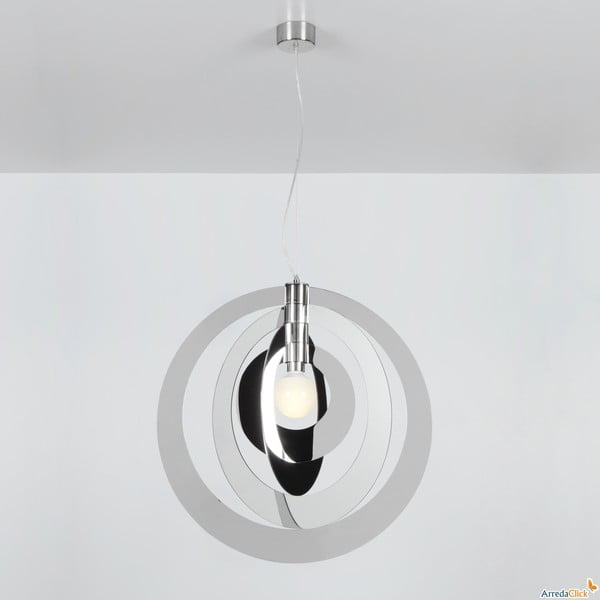 Lampa wisząca Galilea Emporium, chromolit