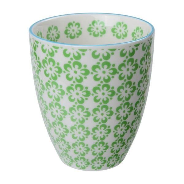 Porcelanowy kubek Orient Green, 8,7x9,8 cm