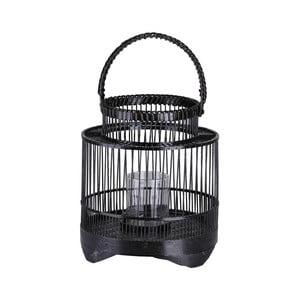 Czarny lampion dekoracyjny A Simple Mess Stakke