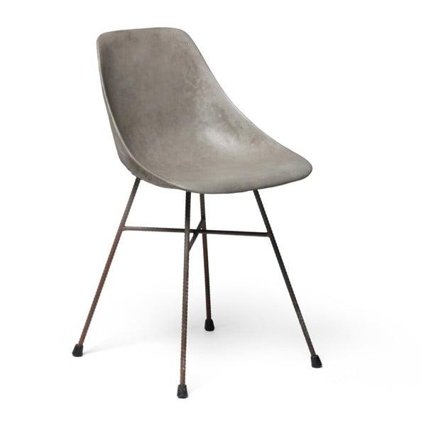 Betonowe krzesło Lyon Béton Hauteville