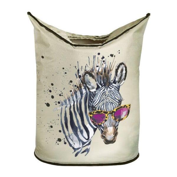 Kosz na bieliznę Cool Zebra