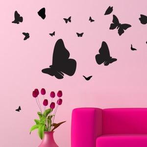 Naklejka z 15 kryształkami Swarovski Ambiance Butterflies