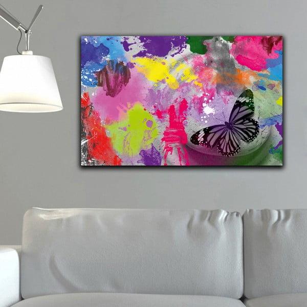 Obraz Butterfly Drops, 45x70 cm