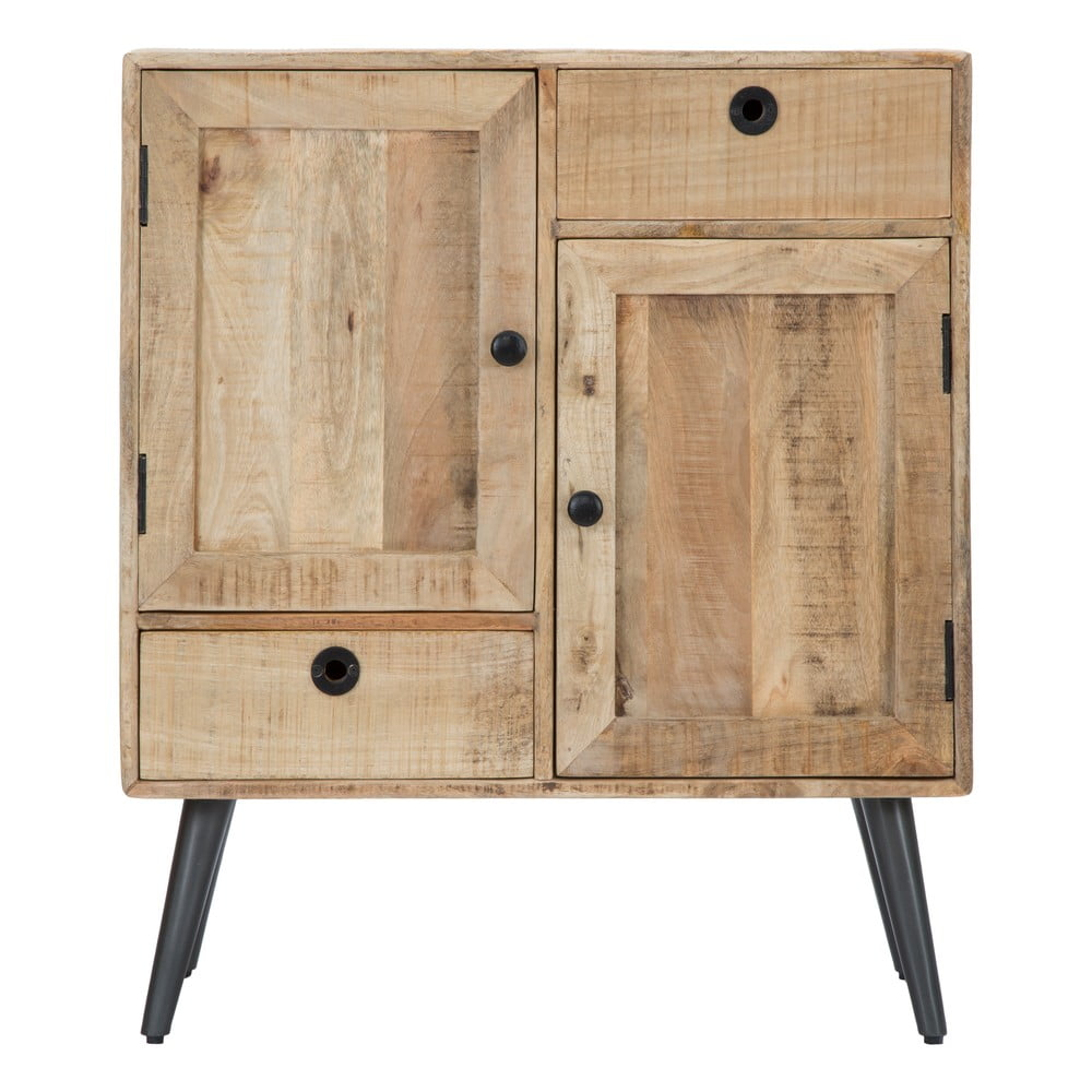 Szafka z drewna mangowca Mauro Ferretti Belgrado, szer. 75 cm