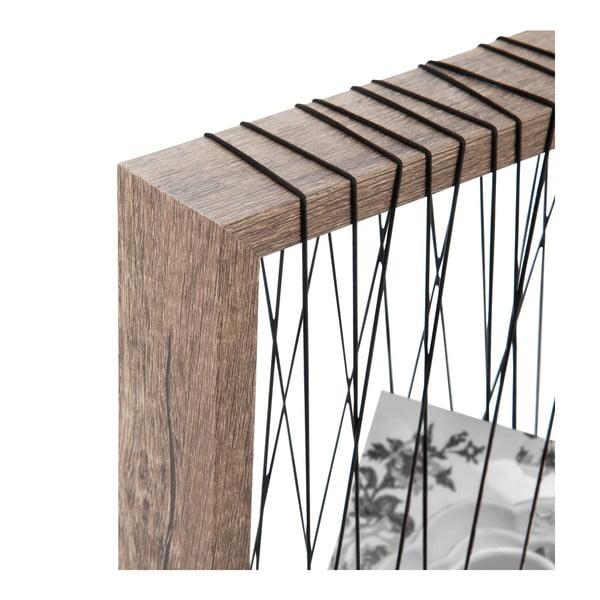 Ramka na zdjęcia s provázky Rope, 22x27 cm