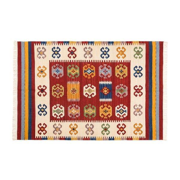 Dywan ręcznie tkany Kilim Dalush 206, 150x90 cm