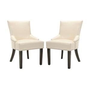 Komplet 2 foteli Sawyer Cream