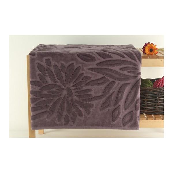 Fioletowy dywanik łazienkowy Mat, 90x150 cm