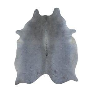 Szara skóra bydlęca, 185x140 cm