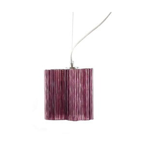 Lampa wisząca Ferro Cristal Purple Single