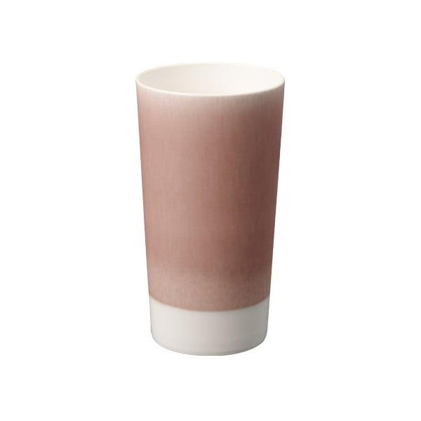 Fioletowa porcelanowa szklanka do piwa Kinto Tumbler