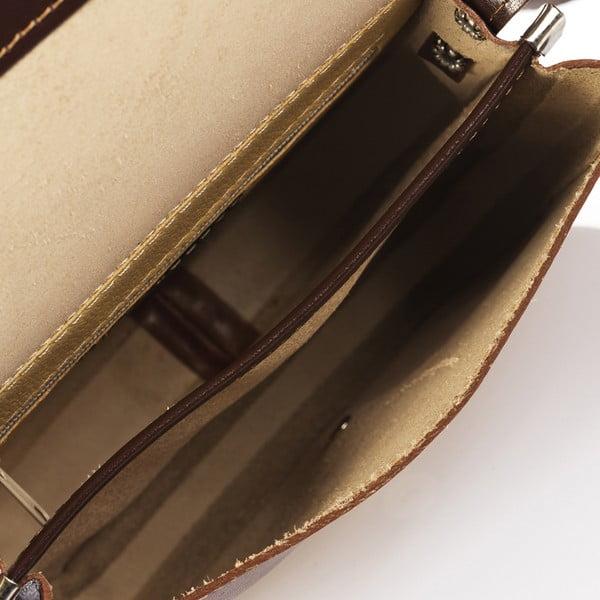 Brązowa torebka skórzana Giorgio Costa Calista