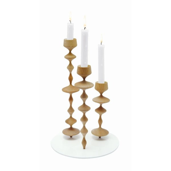 Świecznik Les Perles Wood XL