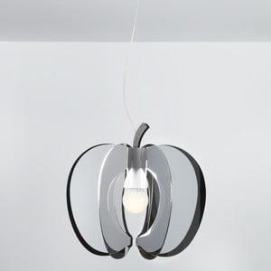 Lampa wisząca Mela Emporium, chromolit