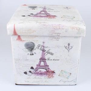 Taboret ze schowkiem Paris