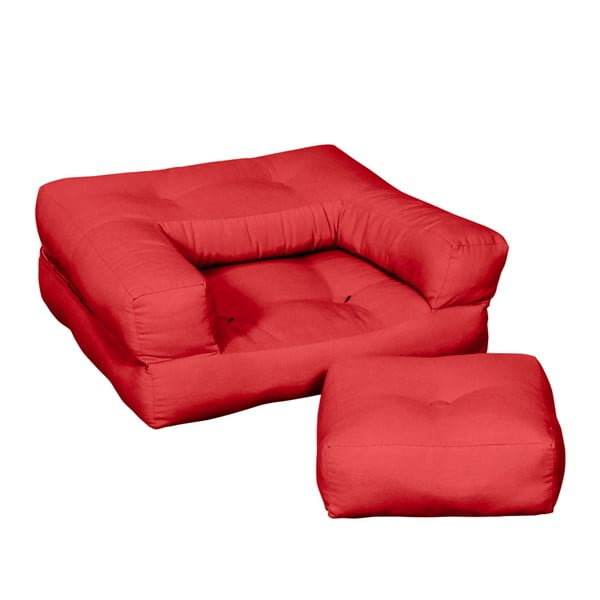 Fotel dziecięcy Karup Baby Cube Red