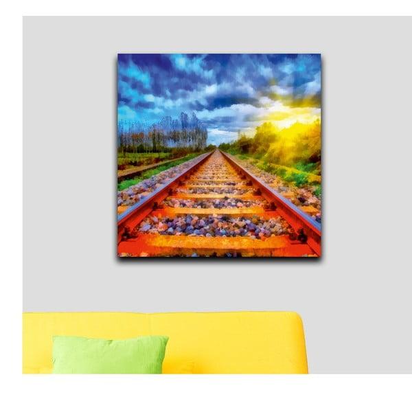 Obraz Podróż w nieznane, 60x60 cm