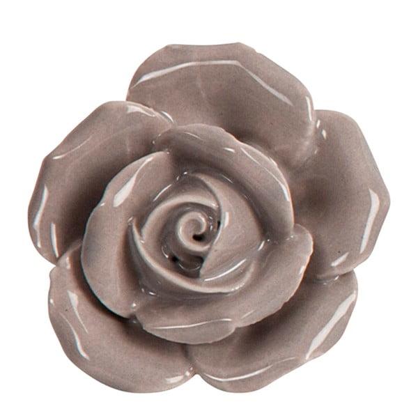 Ceramiczna gałka do mebli Peony Grey