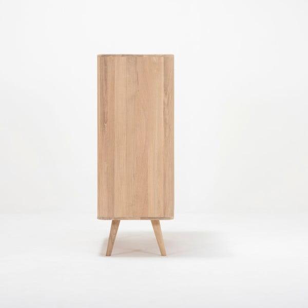 Komoda dębowa Gazzda Ena One, 90x42x110 cm