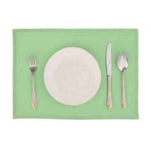 Komplet 2 mat stołowych Joy, zielone