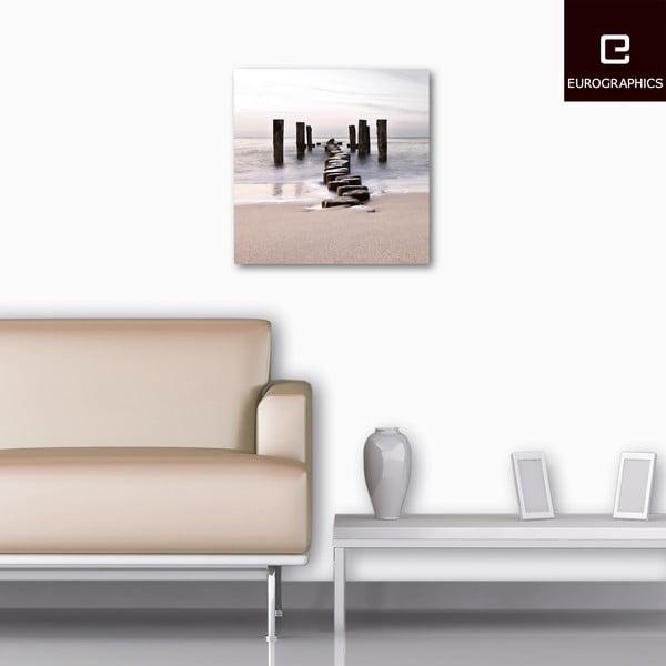 Szklany obraz Path To Silky Sky, 50x50 cm