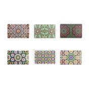 Zestaw 6 mat stołowych z tworzywa sztucznego Villa d'Este Marrakech