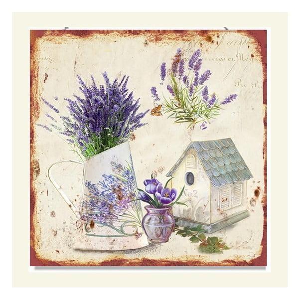 Dekoracja ścienna Lavender, 2 szt.