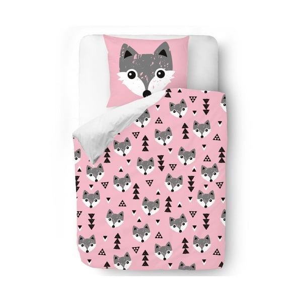 Pościel Pink Foxes, 140x200 cm