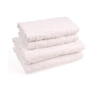 Zestaw 4 ręczników bawełnianych Casa Di Bassi Wtypo