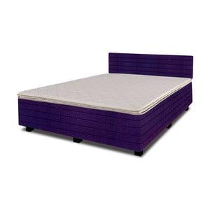 Łóżko z materacem New Star Purple, 140x200 cm