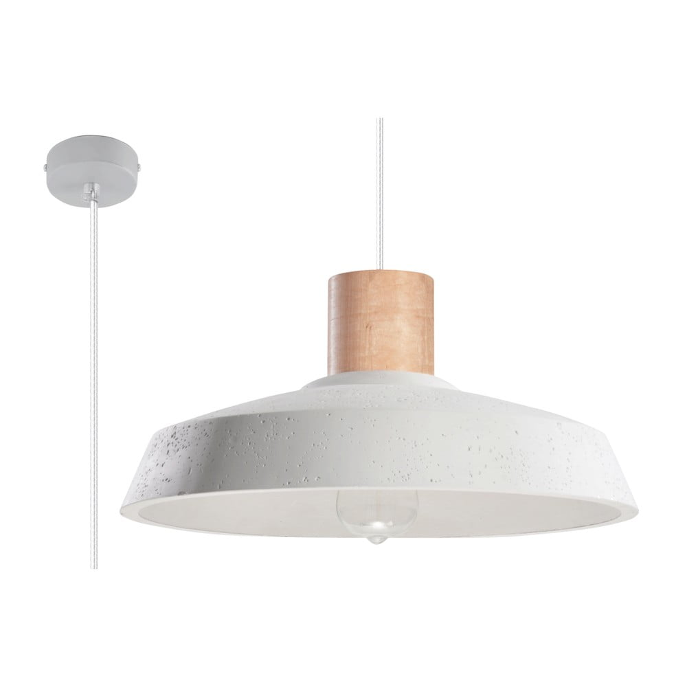 Biała lampa wisząca Nice Lamps Arrigo