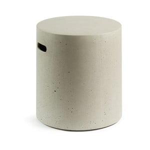 Szary stołek La Forma Rhette