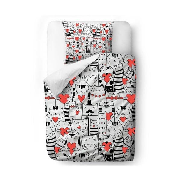 Pościel Cat Love, 140x200 cm