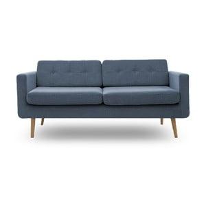 Sofa trzyosobowa Vivonita Sondero, naturalne nogi