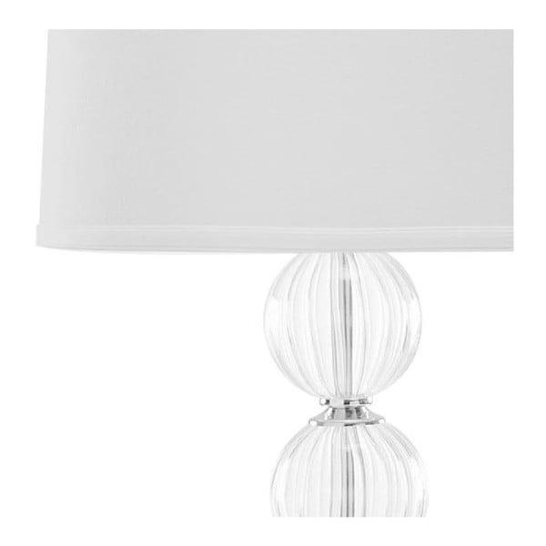 Zestaw 2 lamp stołowych z białym abażurem Safavieh Giulia