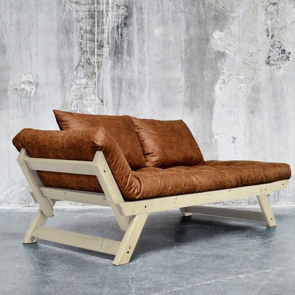 Sofa Karup Vintage Bepop Natural/Choco