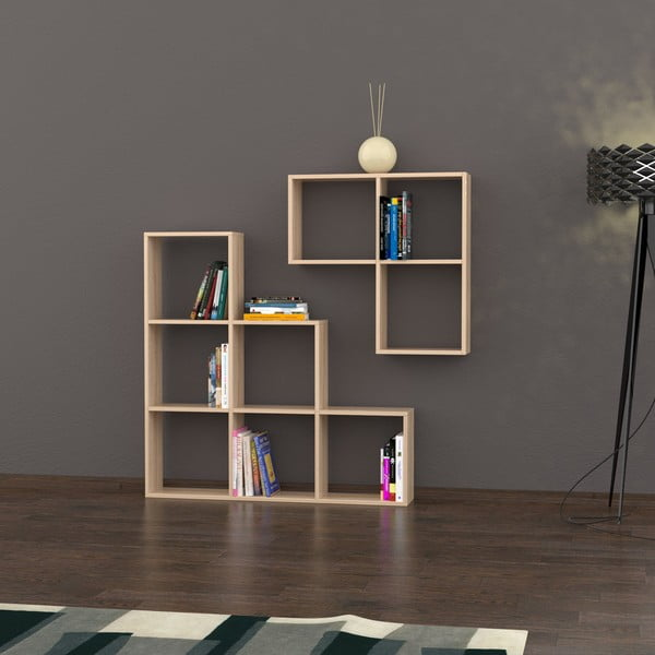 Biblioteczka Portion 120x120 cm Oak