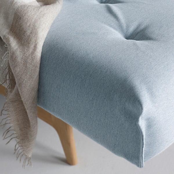 Rozkładana sofa Fraction, jasnoniebieska