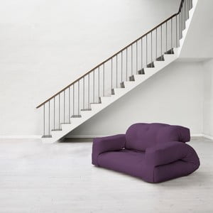 Sofa rozkładana Karup Hippo Purple