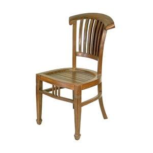 Krzesło z teczyny Goa, brązowe