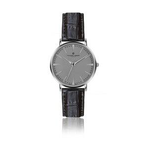 Zegarek męski z czarnym paskiem skórzanym Frederic Graff Silver Eiger Croco Black Leather