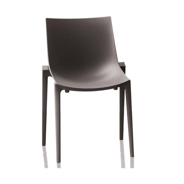 Krzesło Zartan, czarne