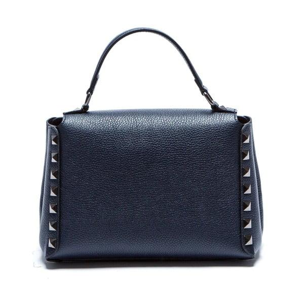 Niebieska skórzana torebka Sofia Cardoni Lisa