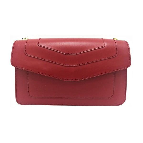 Skórzana torebka Joia Red
