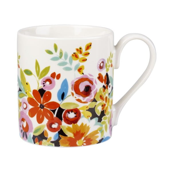 Zestaw 4 kubków Churchill China Collier Campbell Flower, 250 ml